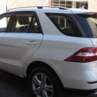 2012 Merc ML350 4Matic, BlueEffiency, A/T(Petrol) 3.5L