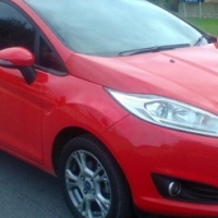 2015 Ford Fiesta 1.4 Ambiente. 4,600km. Valid Warranty.A/C, P/S, R/CD, R/CD/Aux,