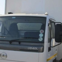 Nissan 2012 UD40L dry freight Bo