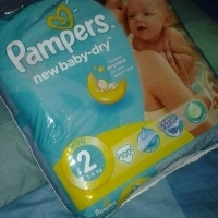 Pampers giant pack no2