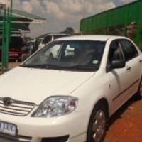Toyota Corolla 1.6 GLE FINANCE FINANCE