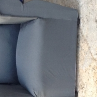 Urgent sale!! 2 new silver couch for sale