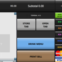 Touchscreen Tablet/PC Point of Sale System