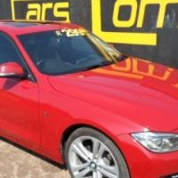 2012 BMW 3 SERIES (F30) 320D SPORTLINE A/T RED 96194km