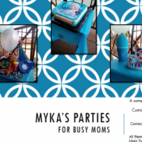 MYKA'S PARTIES - FOR BUSY MOMS