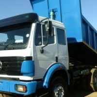 Tipper 10 cube Merc Powerliner 2535,Fully Refurbished,sold with rwc 2 to choose from