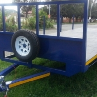 ((((( # 10 FLATBED TRAILERS UNLIMITED. )))))