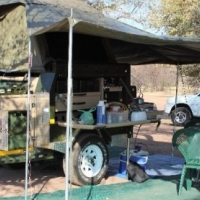 Conqueror Compact II 4X4 Camping Trailer 2013