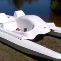 Beautiful Brand New 2 Seater Pedal Boats