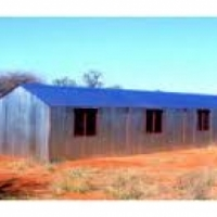 steel huts, zozo huts