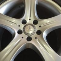 "Mercedes OEM Original 18"" Mag Rims and Tyres"