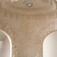 Grecian concrete display unit