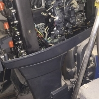 2x 90hp yamaha autolube motors