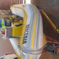 Gemini 4,3m rubber duck with 40 HP Yamaha autolube motor and trailer for sale  South Africa