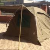 canvas dome tent