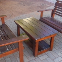 Wooden Garden Set For Sale