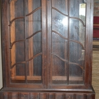Cape stink wood display / book case