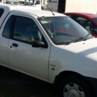 Ford Bantam Bakkie 1.3i 2007 White Lic with Canopy Good Condition R44 900-00 Phone Nico 079 601 9813