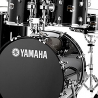 Used, YAMAHA GIGMAKER 5PC DRUM KIT for sale  Springs