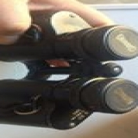 Binoculars with Hard Case