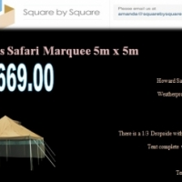 Tent Marquee 5x5