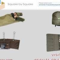 Camping Equipment bags, mattresses and cutery bags