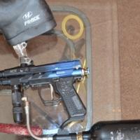 Paint ball guns