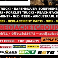 OTR TYRES | TLB TYRES | SKID STEER TYRES | INDUSTRIAL TYRES | EARTHMOVER TYRES| RED JACKET....