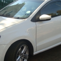 FINANCE AVALIABLE 2012 VW POLO PLAYA 1.4 C/LINE WHITE COLOUR