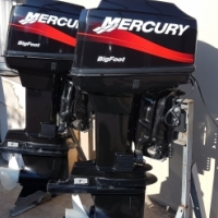 Mecury Big foot 60 HP X 2 with T/T for sale