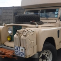 (Series II - 1968) 'Land Rover' Camp Ready Motorhome For Sale
