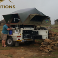 Hire A Fully Equipped Camping Trailer From R450 p/d - Jurgens XT120