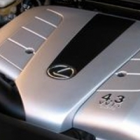 3UZ FE VVTi Lexus V8 engines