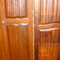 Vintage two door  wardrobes (six available)