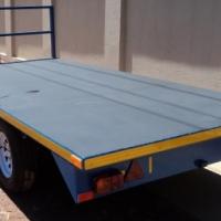O.1. BRAND NEW FLAT DECK 2700kg