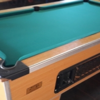 RECOVERING / RECLOTHING OF POOL TABLES