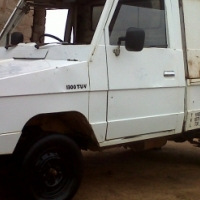 TOYOTA TUV 1300 1987 BAKKIE WITH CANOPY (Roadworthy with papers)