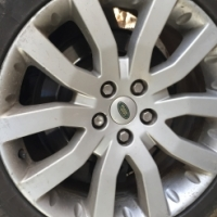"20"" MAG WHEELS WITH TYRES FOR RANGE ROVER SPORT OR DISCO"