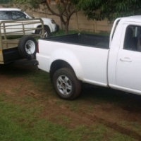 Bakkie and Trailer for Hre