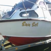 19ft capecraft cabin boat