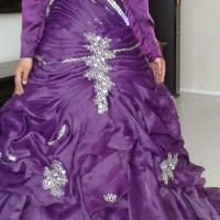 Deep Purple Ball Gown for Sale