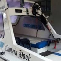 Arrowhead boot, trailer, 40hp Yamaha motor,