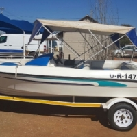 Boat for sale: Escape 17 with 90 Johnson motor