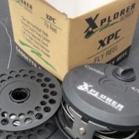 Fly rod and reel Xplorer Pro-Cast + Xplorer XPC Reel + Net