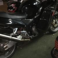 2004 Honda cbr1100 Super black bird