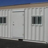 SOLAR POWERED site offices made to spec!!