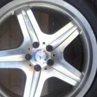 second hand mags and tyres 20'' ML Mercedes mags,they just look stunning.