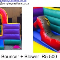 Jumping Castle Joy Ride Bouncer + Blower