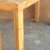 Bar table Chunky Farmhouse series 1800 Stained