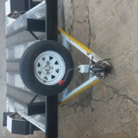 3 bike trailer urgent sale